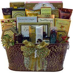 Resounding Joy Gift Basket (Burgandy)
