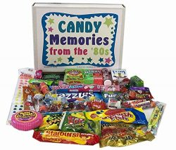Retro Nostalgic 1980s Candy Gift Box – Memories of Life From the '80s Decade