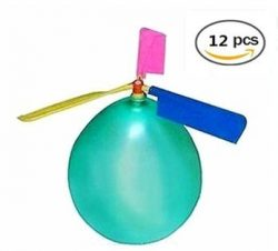 BAIVYLE Kids Toy Balloon Helicopter (12 pack)Children's Day Gift Party Favor easter basket ...