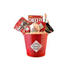TABASCO Party Time Snack Pail Gift Basket
