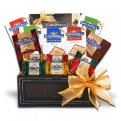 Valentines Day Ghirardelli Gift Trunk of Excellence