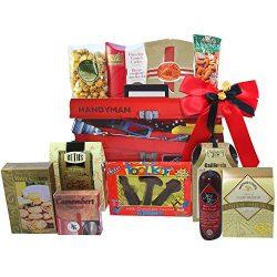 Handyman's Toolbox of Snacks and Treats Gift Basket