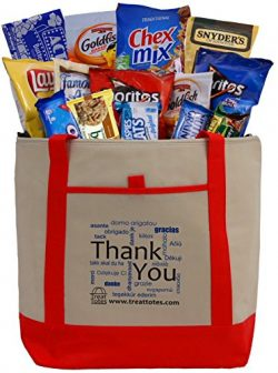 Treat Totes – Thank You Snacks Tote
