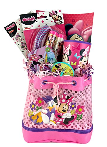 Minnie Mouse Themed Gift Basket Idea for Girls Birthday Get Well Christmas Care Package  sc 1 st  ubaskets & Minnie Mouse Themed Gift Basket Idea for Girls Birthday Get Well ...