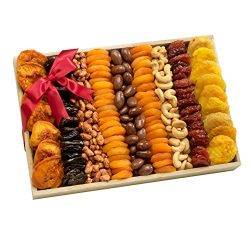 Broadway Basketeers Assorted Fruit and Nut Gift Crate