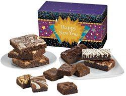 Fairytale Brownies New Year Treasure Medley Gourmet Food Gift Basket Chocolate Box – Full- ...