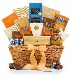 GiftTree Encore Gourmet Chocolate & Premium Snack Food Gift Basket – Premium Gift Bask ...