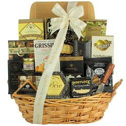 GreatArrivals Gift Baskets In Kindness & Sympathy: Sympathy Cheese & Snack Gift Basket,  ...