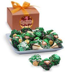 One Dozen St. Patrick's Day Fortune Cookie Gift Box