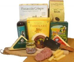 Delight Expressions Meat and Cheese Pleaser Gourmet Gift – A Gift Basket Idea!