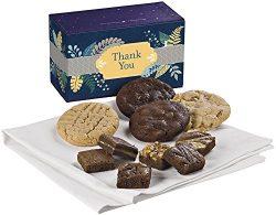 Fairytale Brownies Thank You Treasure Cookie & Magic Morsel Combo Gourmet Food Gift Basket C ...