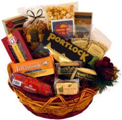 Delightful Snack Gift Basket