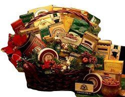 Merry Christmas Gourmet Holiday Gift Basket – Medium