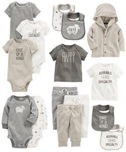 Carter's Baby 15-Piece Basic Essentials Set, Sheep, 9 Months