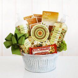 Healthy and Natural Organic Oatmeal Spa Gift Basket