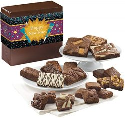 Fairytale Brownies New Year Medley Gourmet Food Gift Basket Chocolate Box – Full-Size, Sna ...