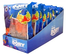 Disney Finding Dory Candy Gummy Characters, 2.54 Ounce, Pack of 12