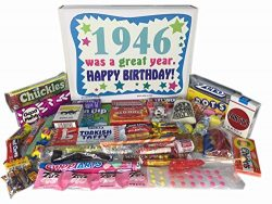 Woodstock Candy 72nd Birthday Gift Box of Nostalgic Retro Candy from Childhood for a 72 Year Old ...