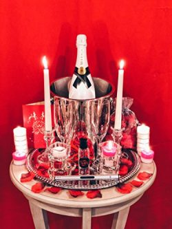 Deluxe Romantic Valentines Day Gift for Her Him Husband Wife Boyfriend Girlfriend Couple Date Ni ...