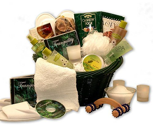 Ultimate Relaxation Spa for Her -Womens Birthday, Holiday, or Mother's Day Gift Basket Idea
