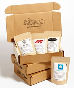 Bean Box Gourmet Coffee Sampler – 3-Month Gift Subscription – (fresh roasted coffee  ...