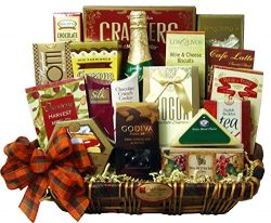 Delight Expressions™ Giving Thanks Thanksgiving Gourmet Food Gift Basket