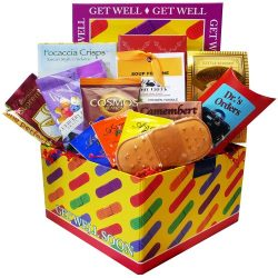 Get Well Soon Bandaid Care Package Gift Box