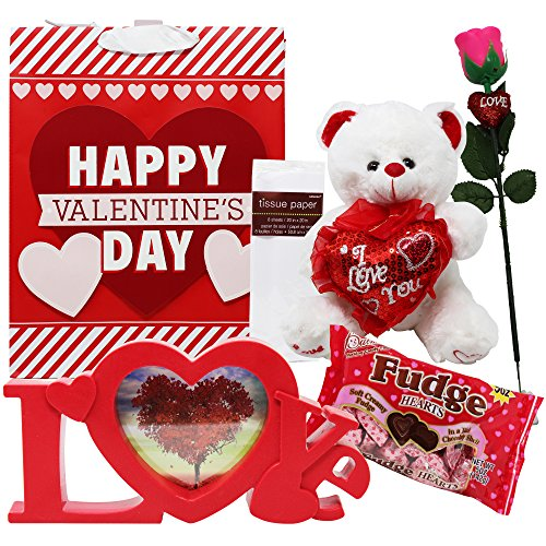 Valentines day gift set great idea for him or her for Great valentines ideas for her
