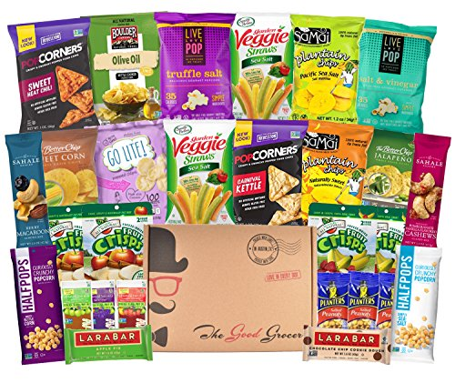 Gluten free and vegan healthy snacks care package 28 ct bars gluten free and vegan healthy snacks care package 28 ct bars chips negle Gallery