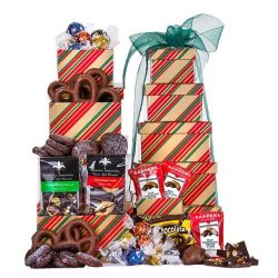 Holiday Sweets Gourmet Tower
