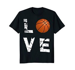 Love Basketball Funny Sports Valentine's Day T-Shirt