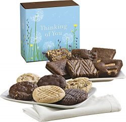 Fairytale Brownies Thinking of You Cookie & Brownie Combo Gourmet Food Gift Basket Chocolate ...