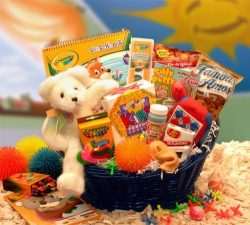 Blast of Fun Activity Gift Basket for Children -Organic Stores