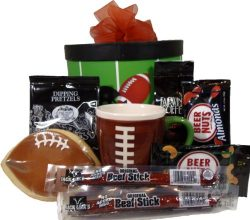 "Delight Expressions™ ""Get in the Endzone"" Gift Box – Football Gift Box"