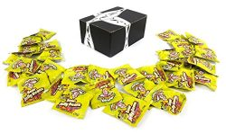 Warheads Sour Jelly Beans Candy, 0.53 oz Snack Packs in a BlackTie Box (Pack of 32)