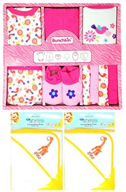 Gifts For Newborn Babies This 11 Piece Baby Girl Gift Set Includes a Baby Bodysuit, Pants, Booti ...