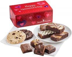 Fairytale Brownies Valentine Treat Combo Gourmet Food Gift Basket Chocolate Box – Assorted ...