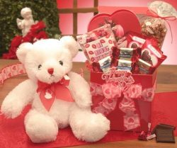 A Big Kiss for You Valentines Day Gift Box for Her