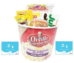 Welcome Baby New Mommy / Daddy Date Night In Redbox Movie Night Candy Gift Basket ~ Jam Packed w ...