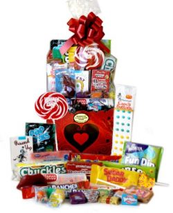 Big City Hearts Candy Gift Basket