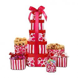Alder Creek Valentine's Day Tower of Love Gift Set