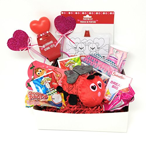 Kids Valentine Gift Box Love Bug For Girls Chocolate Candy And