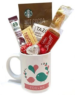 Valentines Gifts | Valentines Care Package | Coffee | Hot Cocoa |Tea | Kids, Teenagers, Adults,  ...