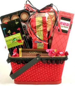 Be My Valentine | Valentines Day Gift Basket for Men or Women