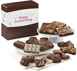 Fairytale Brownies Anniversary Medley Gourmet Food Gift Basket Chocolate Box – Full-Size,  ...