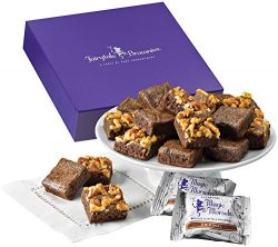 Fairytale Brownies Sugar-Free Magic Morsel 18 Gourmet Food Gift Basket Chocolate Box – 1.5 ...
