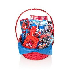SPIDERMAN Gift Basket for Christmas, Easter, Birthdays, Summer Fun, Get Well or Special Occasion ...