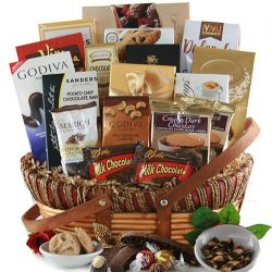 Over the top Chocolate! – Chocolate Gift Basket