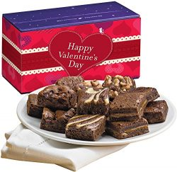 Fairytale Brownies Valentine Magic Morsel Dozen Gourmet Food Gift Basket Chocolate Box – I ...