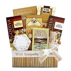 For Someone Special in Your Time of Need | Deluxe Sympathy Gift Basket by Organic Stores
